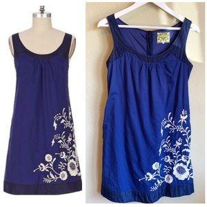 Anthropologie FLOREAT Missouri Primrose Dress